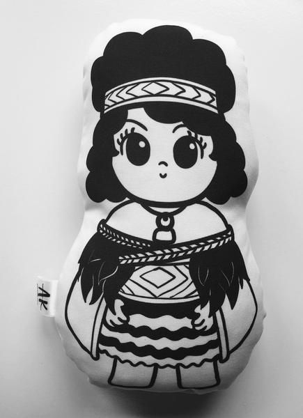 Maori Girl Kids Softie