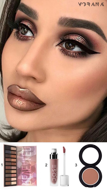 1. Coastal Scents - Revealed Palette 2. Dose of Colors - Matte Liquid Lipsticks: Desert Suede 3. Sigma Beauty - Powder Bronzer: Limelight #CoastalScents #Revealed Palette #DoseOfColors #DesertSuede #Matte #SigmaBeauty #Bronzer