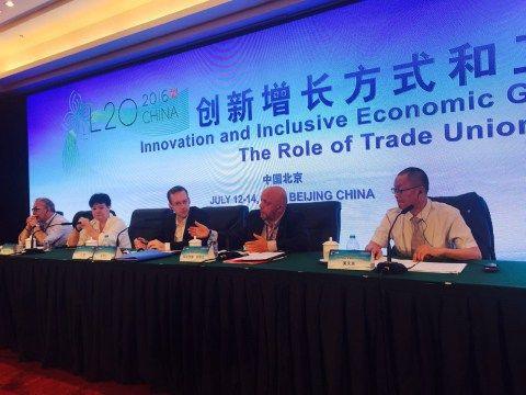 Arslan, Pekin'deki L20 zirvesine katıldı