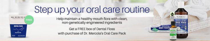 Dr. Mercola's Fluoride-Free Refreshing Mint Toothpaste With Tulsi