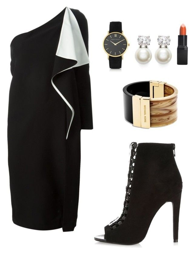 My First Polyvore Outfit by inger-malmgaard-petersen on Polyvore featuring polyvore fashion style Chloé River Island Michael Kors Larsson & Jennings Judith Jack Barry M clothing