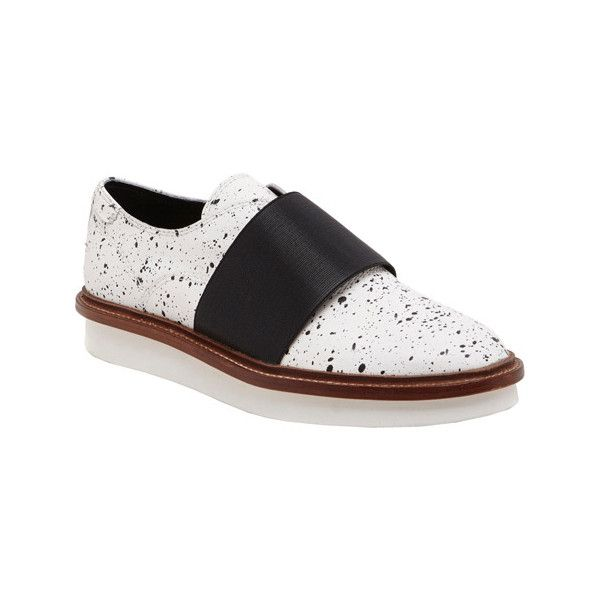 Women's Dolce Vita Saxon Flatform - Off White Casual (235 CAD) ❤ liked on Polyvore featuring shoes, sneakers, casual, casual shoes, white, dolce vita, flatform shoes, champagne shoes, off white shoes and dolce vita oxfords