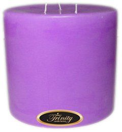 Trinity Candle Factory Lavender  Pillar Candle  6x6 * Click on the image for additional details. #PillarCandle