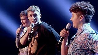 James, James and Curtis' performance - The Fray's How To Save A Life - The X Factor UK 2012 - YouTube