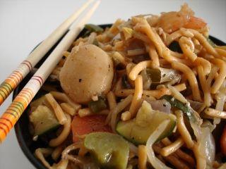 Chow mein aux légumes