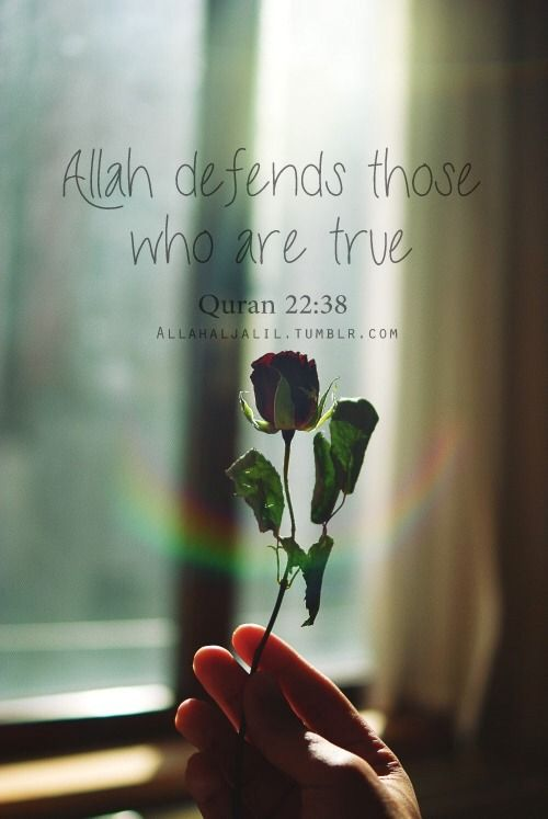 Always remain true and Allah will fight for you!  #moral #allahuakbar