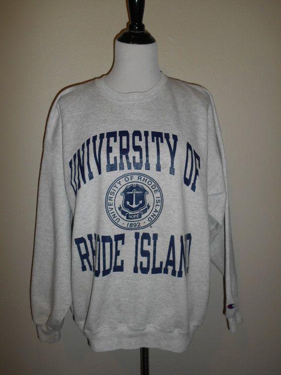 University of Rhode Island sweatshirt by ATELIERVINTAGESHOP