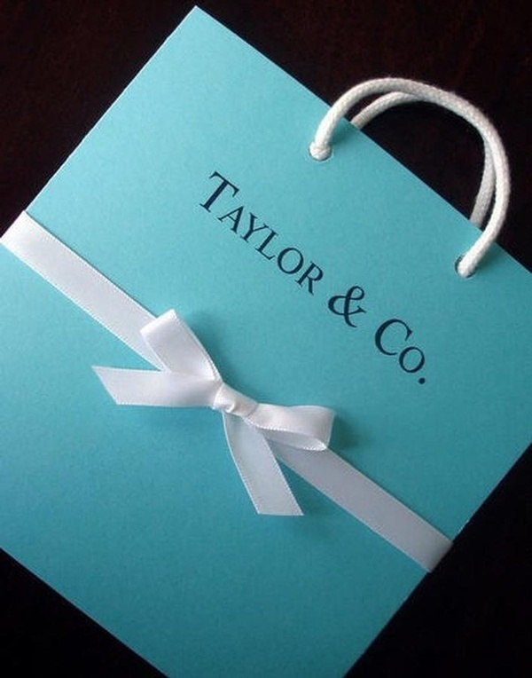 Cute for Tiffany and Co. Party