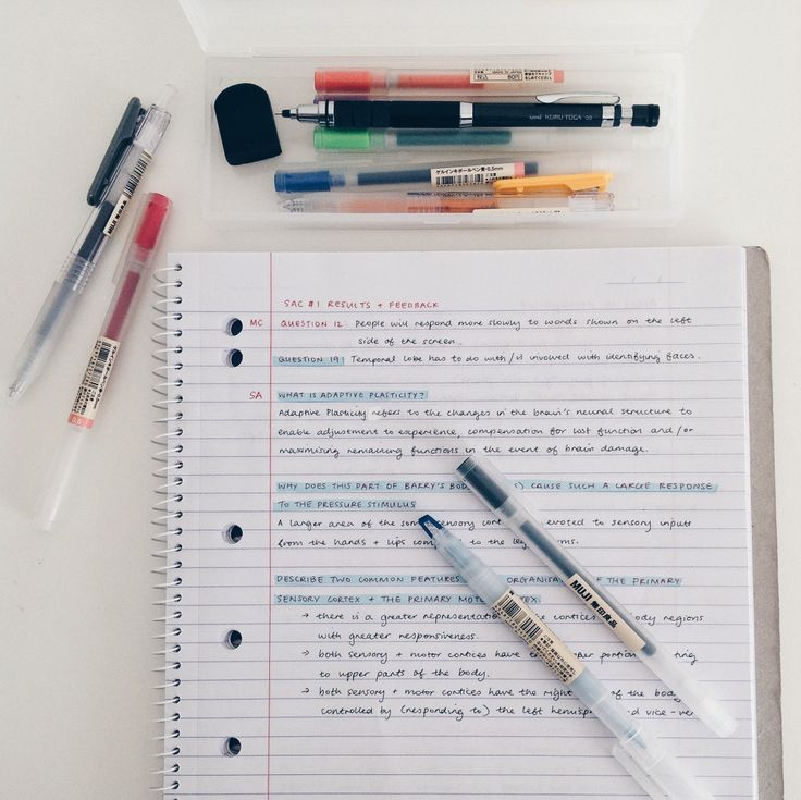 studeying:  might be a bit in love with muji but let's ignore that reviewing my recent psych test !! :) ig: @studeying