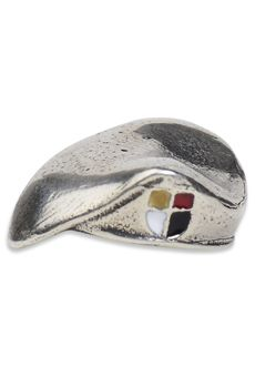 Special Forces Beret, Cross - The U.S. Army Special Forces are currently divided into 5 active duty and 2 Air National Guard Special Forces Groups (SFG), each with its own unique colored flash. Our Special Forces Cross Berets are crafted from .925 sterling silver and accented with a multi-colored cross flash representing the 3rd SFG.