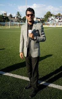 kalyan Chaubey: Live program at Barasat Stadium During CFL
