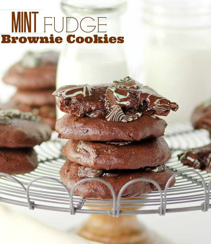 Fudge Brownie Cookies | Recipe | Fudge Brownies, Brownie Cookies