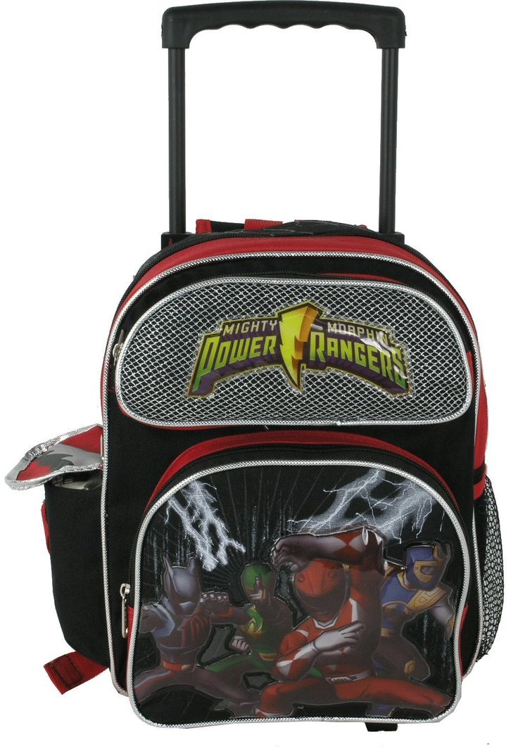 Power Rangers Toddler Rolling Backpack *** Check out the image by visiting the link.