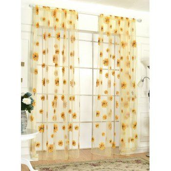 SHARE & Get it FREE | Sunflower Embroidery Tulle Curtain For Room DecorFor Fashion Lovers only:80,000+ Items·FREE SHIPPING Join Dresslily: Get YOUR $50 NOW!