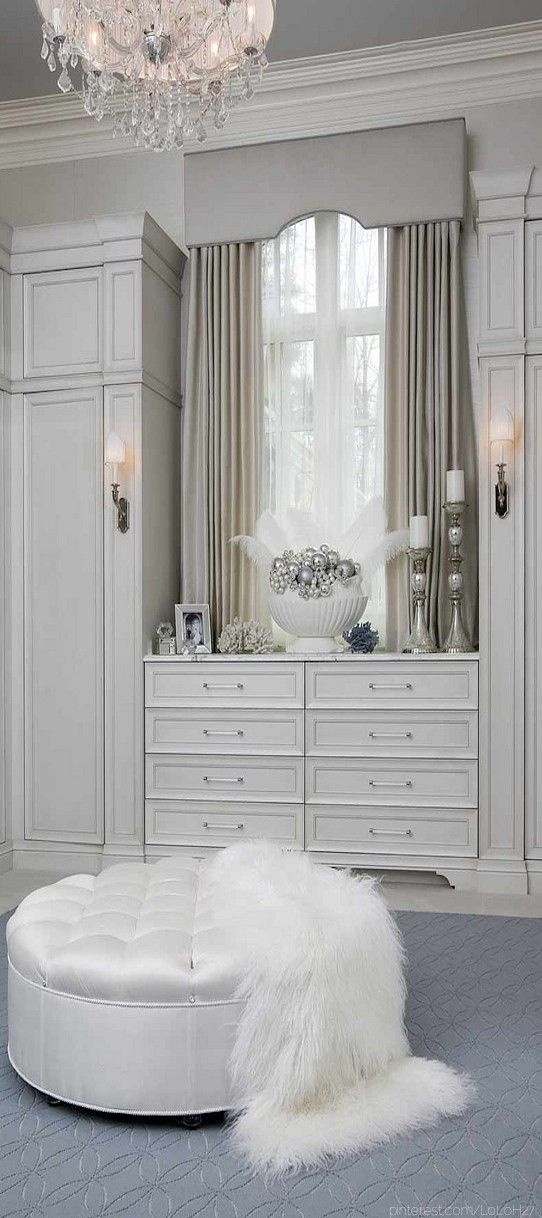 Closet / dressing room by Habachy Designs