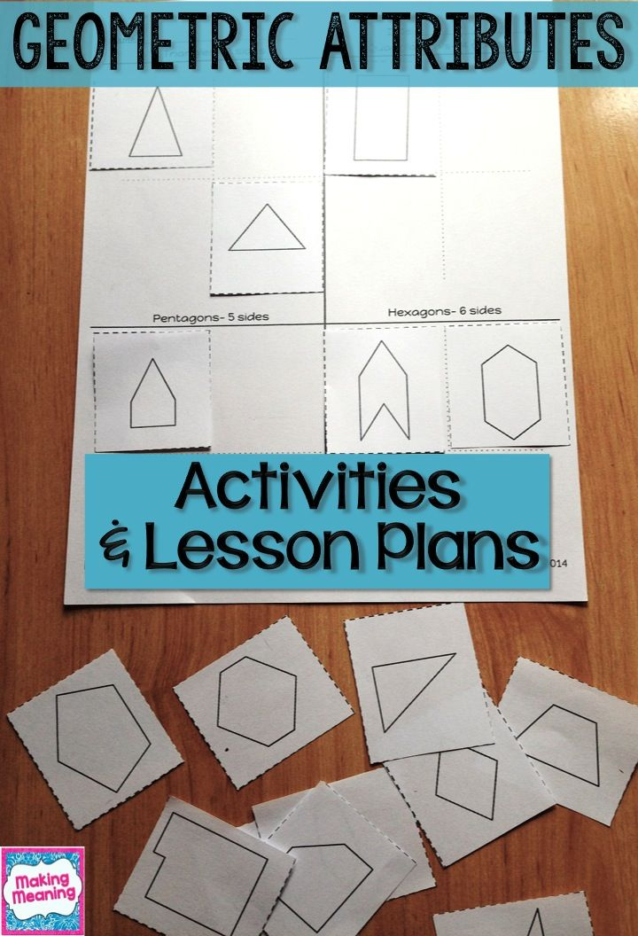 28 best 3rd Grade Math: Unit 4- Attributes of Shapes images on ...