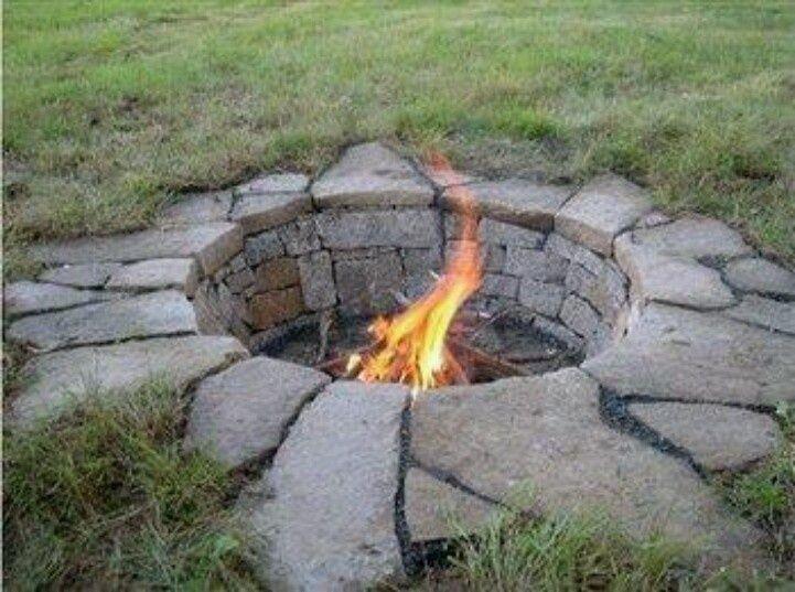 1000 ideas about sunken fire pits on pinterest Sunken fire pit ideas