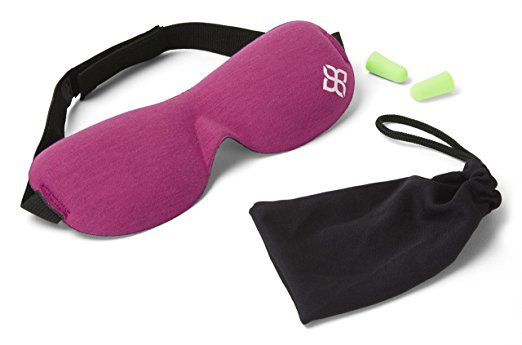 Sleep / Eye Mask - Sleeping Masks Men & Women MONEY BACK GUARANTEE NEW DESIGN using Organic Bamboo & Cotton Lining - Making it Better than Silk - Our Luxury Patented Contoured & Comfortable Sleep Mask & Ear Plug Set is the Best Blackout Eyemask it will Block Light but Wont Touch your eyes like other Eyemasks - Carry Pouch and Ear Plugs Included for FREE