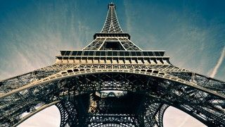 La Tour Eiffel Eiffelova věž Paříž Francie