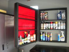 Lets see your spray paint storage - The Garage Journal Board
