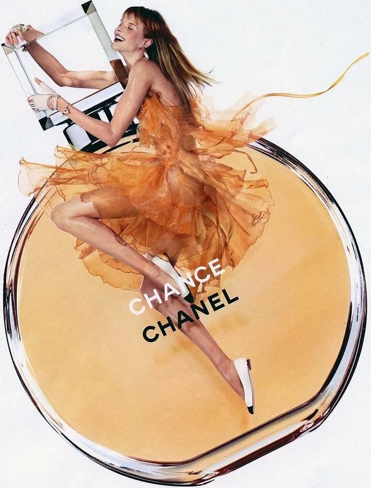 Chanel Chance Fragrance 2012 Ad Campaign. Model: Anne Vyalitsyna. Photographed by: Jean Paul Goude