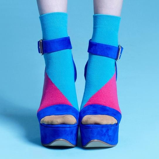 Socks and Sandals: 10 Ways to Rock the Trend | StyleCaster #funwithsocks