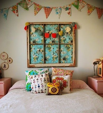 12 DIY HEADBOARDS.  I want them all!  By Mommo Design.