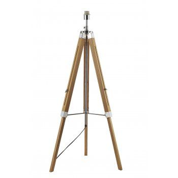 #tripodlamp wooden standard lamp base. Makes a great style statement.