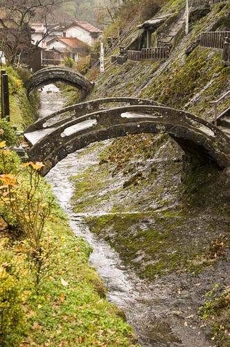 Stone bridges,Japan