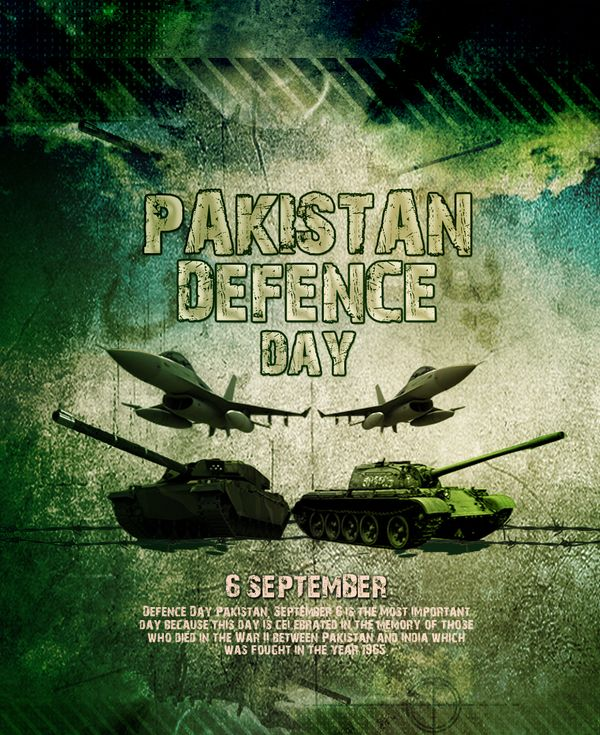 Pakistan Defence Day Poster | 6 September by Ahsan Chaudhry, via Behance