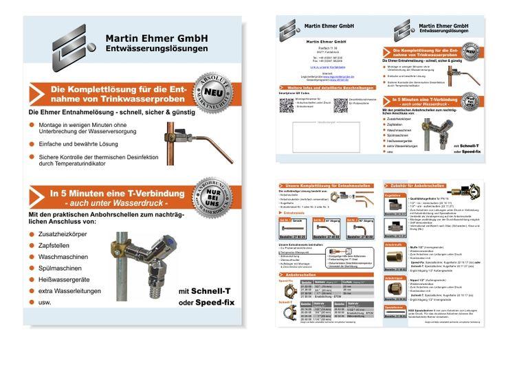 Folder   DIN A5   4-Seiter   Außenseite und Innenteil