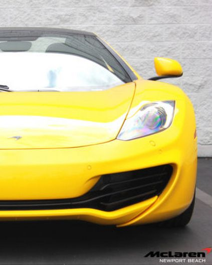 Your new summer ride!? This stunning Yellow #McLaren MP4-12C Spider. Check it out today #amazing #spon