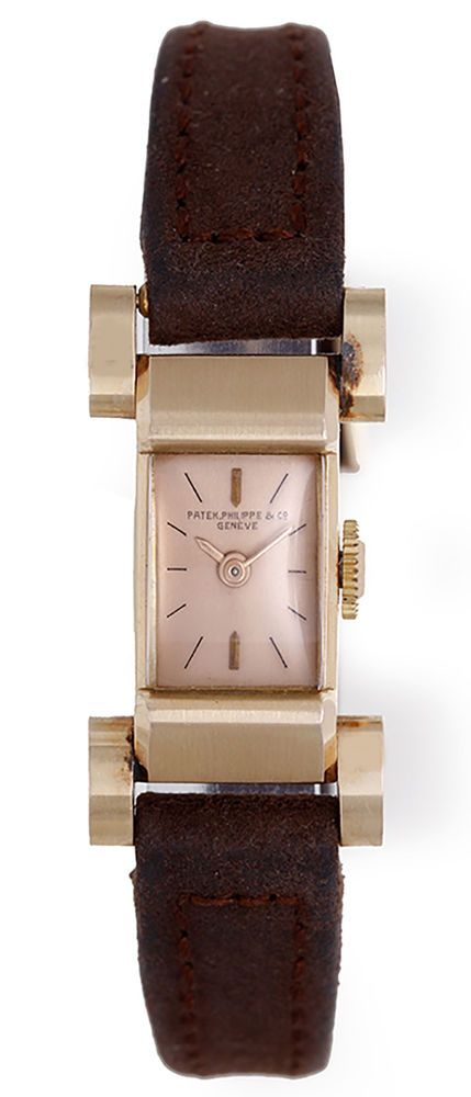 Rare Patek Philippe Vintage Ladies Rose Gold Watch in Unpolished Mint Condition | eBay
