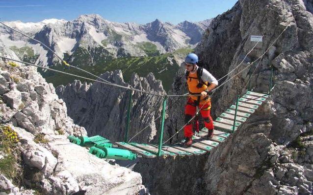 Innsbrucker Klettersteig - feráta Karwendel