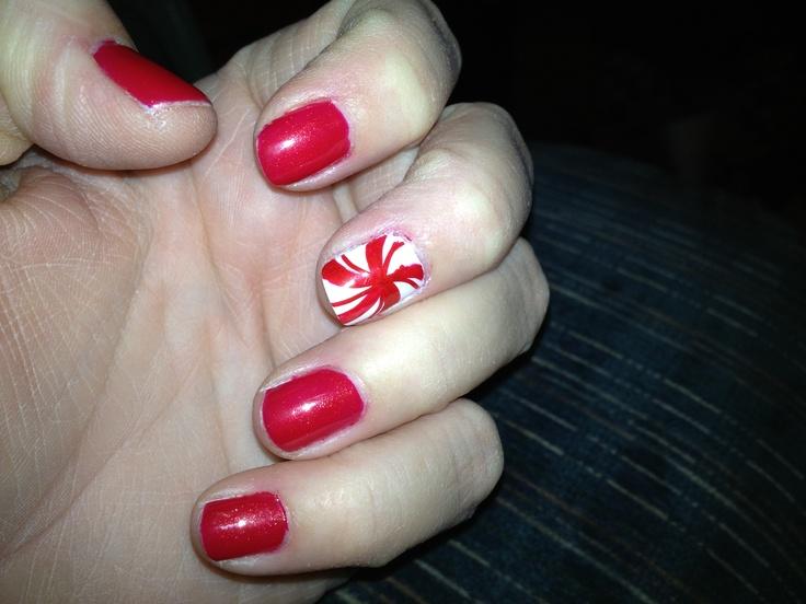 Holiday nails done by Vivid Salon & Spa 168th & Harrison, Omaha, NE
