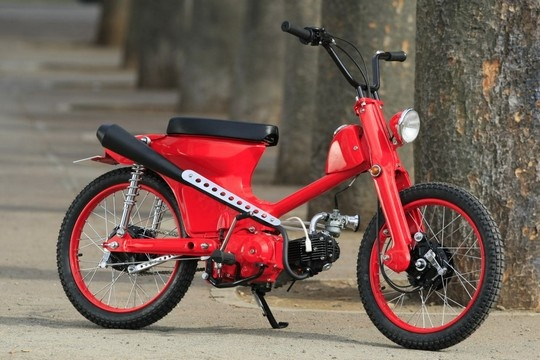 """Mackatin""  Super Cub custom by Cone Custom Bike, Japan"