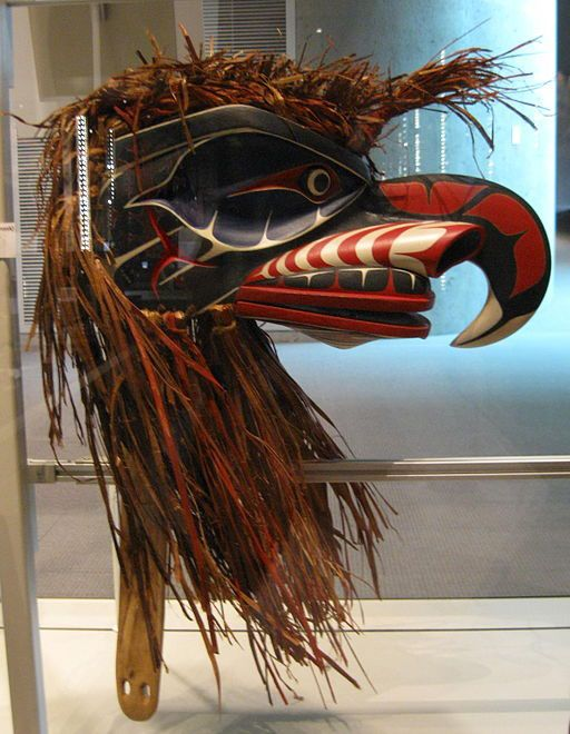 Native American Mask - Nuxalk