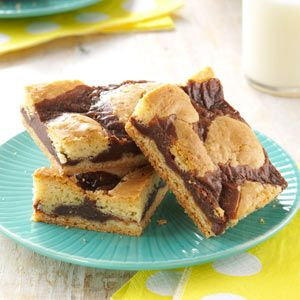 Can't Leave Alone Bars from tasteofhome.com.    Yummy!!   Also good with cherry chips when you can find them.