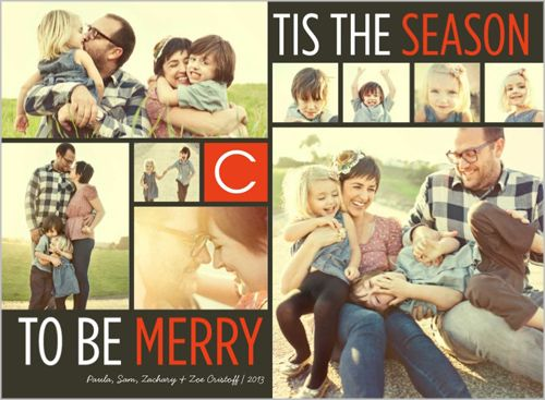 Merriest Season 6x8 Stationery Card by Petite Lemon | Shutterfly
