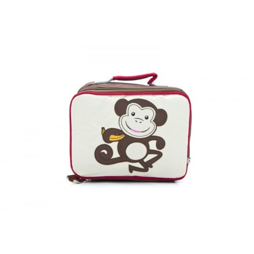 Woddlers Cheeky Little Monkey Lunchbox available at As Your Child Grows - asyourchildgrows.com.au
