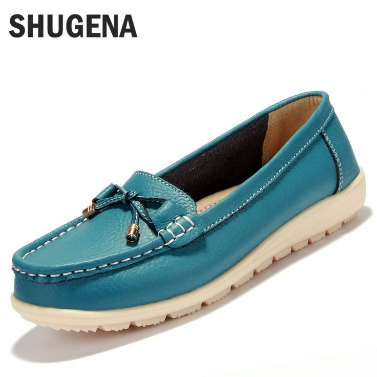 2016 new Summer genuine leather women flats shoes female casual flat women loafers shoes slips leather black flat women's shoes #>=#>=#>=#>=#> Click on the pin to check out discount price, color, size, shipping, etc. Save and like it!