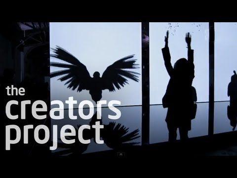 "Amazing Art Installation Turns You Into A Bird | Chris Milk ""The Treachery of Sanctuary"" - YouTube"