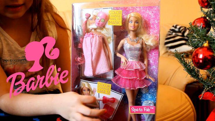 Кукла Барби Barbie 2016 Набор Barbie (Барби) Спа-салон Маска для лица, н...