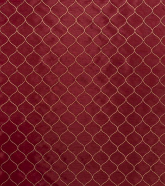 Home Decor Print Fabric-Eaton Square Chaplin Red