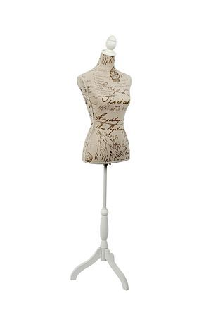 "Script decorative mannequin can be used as a decorative accessory in a feminine bedroom or dressing room. Aspiring clothing designers and dress makers will also find this mannequin stand useful in the sewing room.<div class=""pdpDescContent""><BR /><b class=""pdpDesc"">Dimensions:</b><BR />L38xW22xH168 cm</div>"