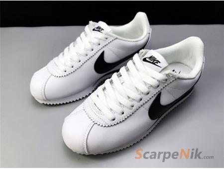 lowest price 0b33a 8569e Scarpe Nike Donna Classic Cortez beige bianca nero colore è il più potente Scarpe  Nike modello