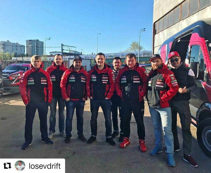 Autoprofi Team  Первый тренировочный день.  Едем на трассу!  #autoprofiteam #autoprofi #RDS2017
