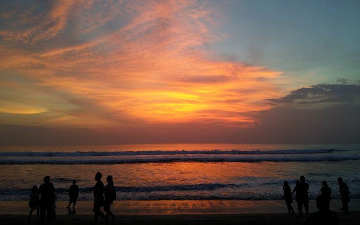 Sonnenuntergang Bali 2017