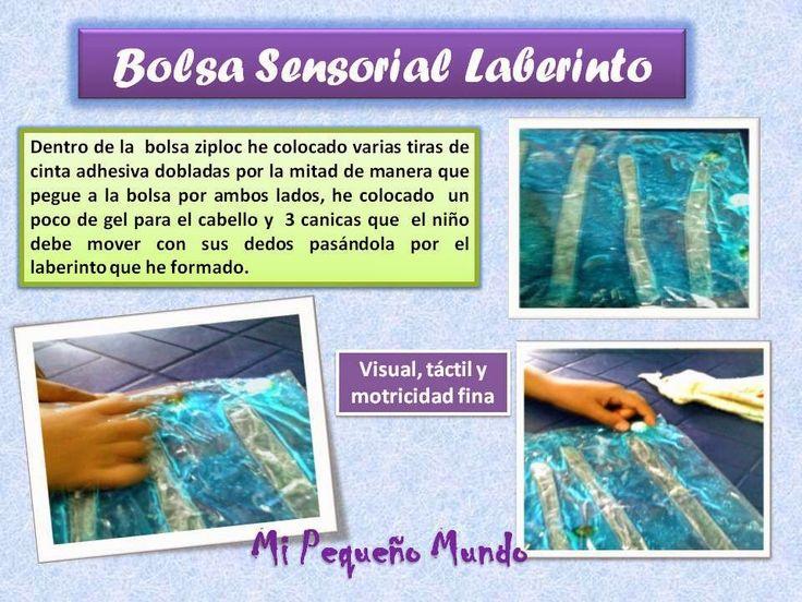 bolsa laberinto sensorial-Botellas Sensoriales