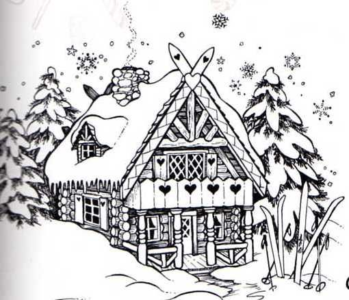 17 Best images about Winter drawings on Pinterest | Rubber ...